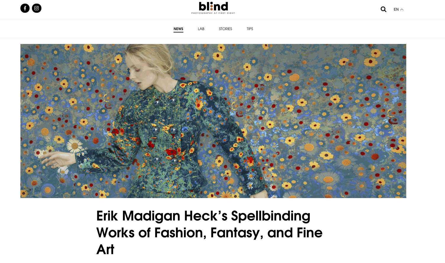 Erik Madigan Heck's Spellbinding Works of Fashion, Fantasy, and Fine Art