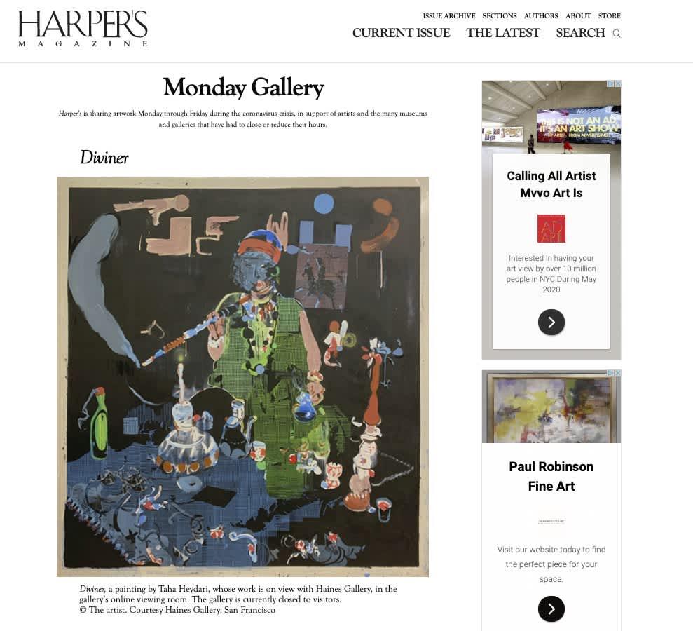 HARPER'S Magazine: Monday Gallery
