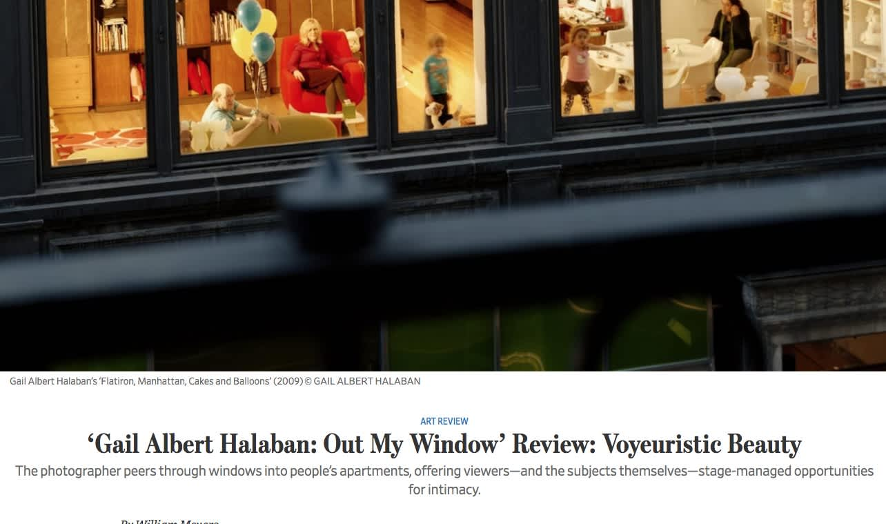 Gail Albert Halaban: Out My Window' Review: Voyeuristic Beauty