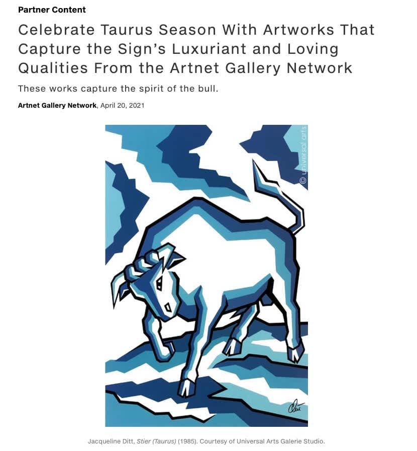 Celebrate Taurus Season With Artworks That Capture the Sign's Luxuriant and Loving Qualities From the Artnet Gallery Network