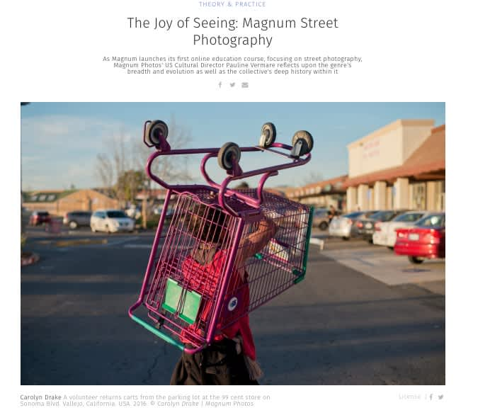 The Joy of Seeing: Magnum Street Photography
