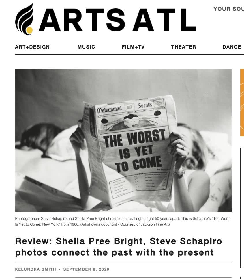 Review: Sheila Pree Bright, Steve Schapiro photos connect the past with the present