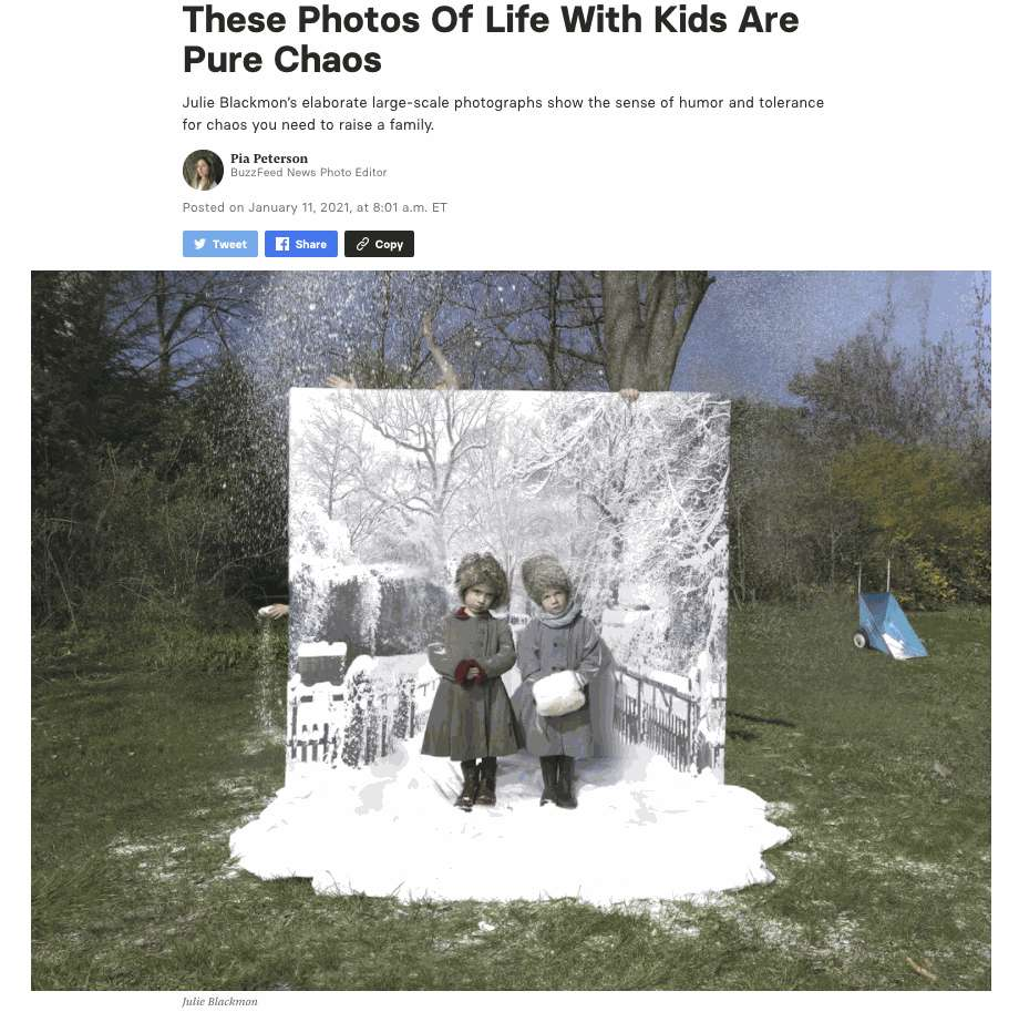 These Photos Of Life With Kids Are Pure Chaos