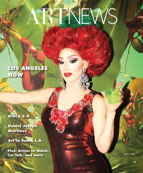Fallen Fruit on the cover of ArtNews