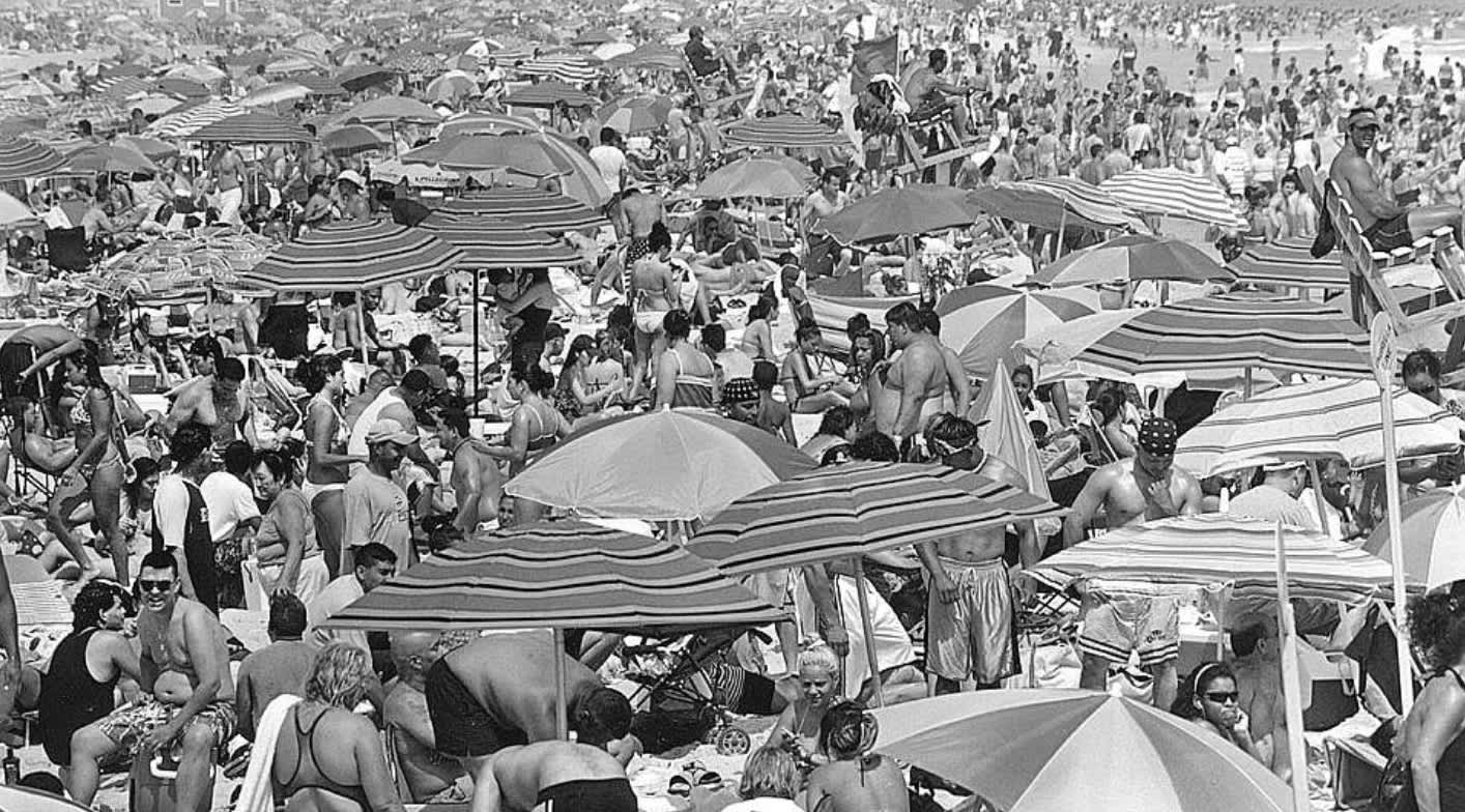 New York Photographer captures stunning series of pictures of Jones Beach lifeguards over 25 years