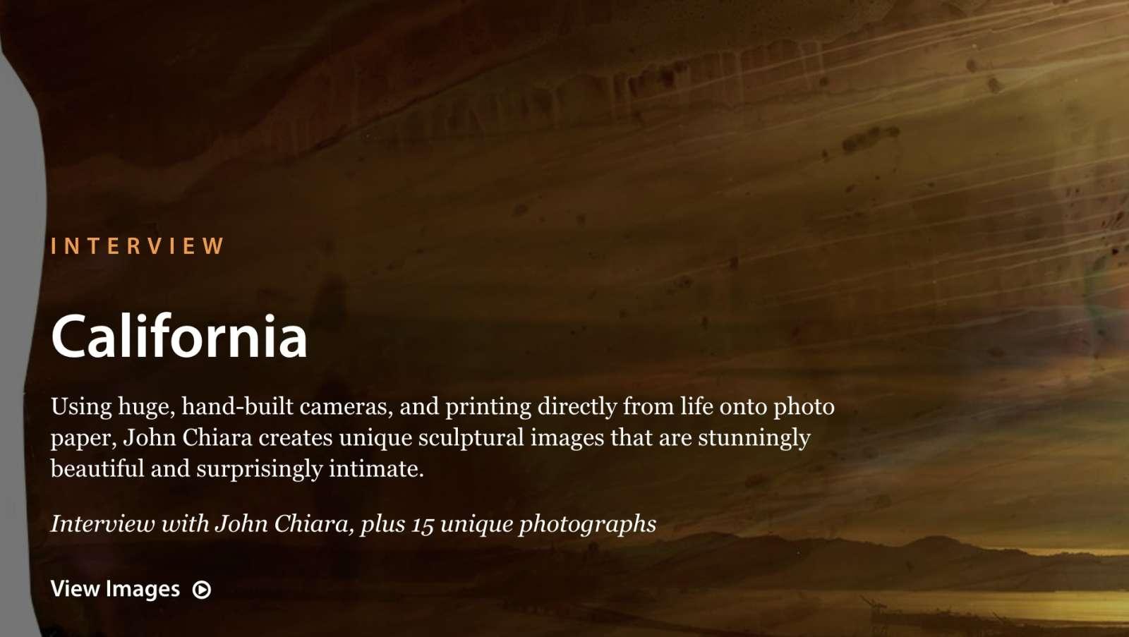 Lensculture: California