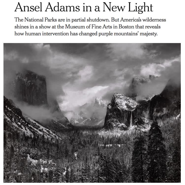 Ansel Adams in a New Light