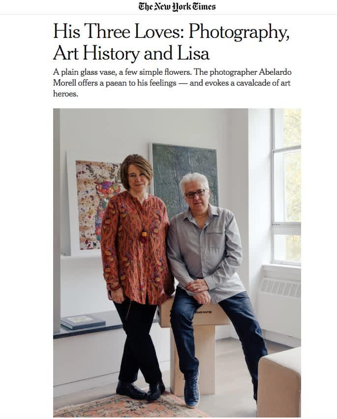 His Three Loves: Photography, Art History and Lisa