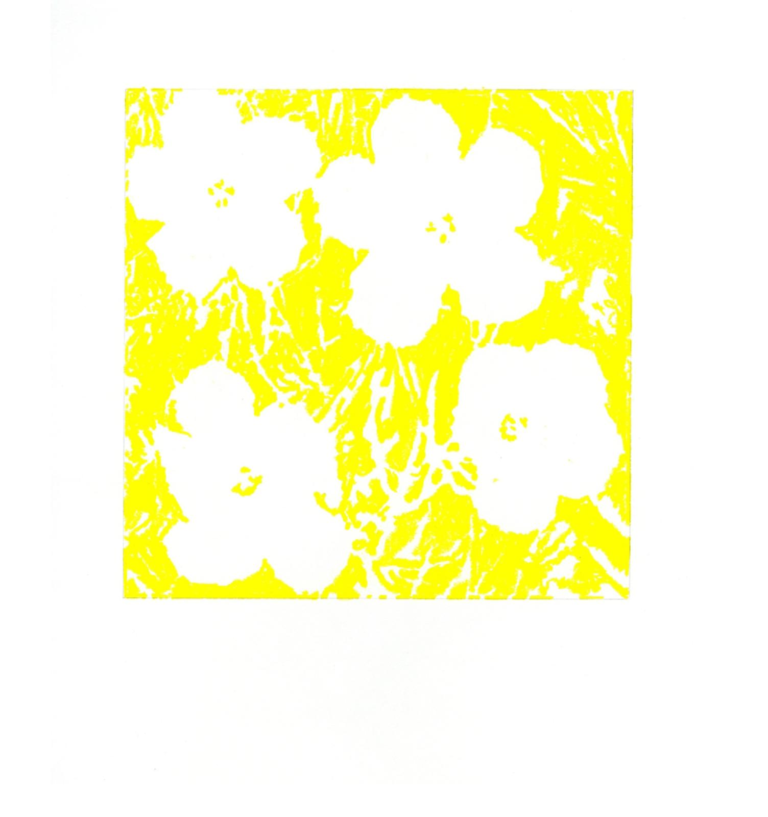 "John Zinsser, After Andy Warhol, ""Flowers,"" 1964 (Yellow), 2011"