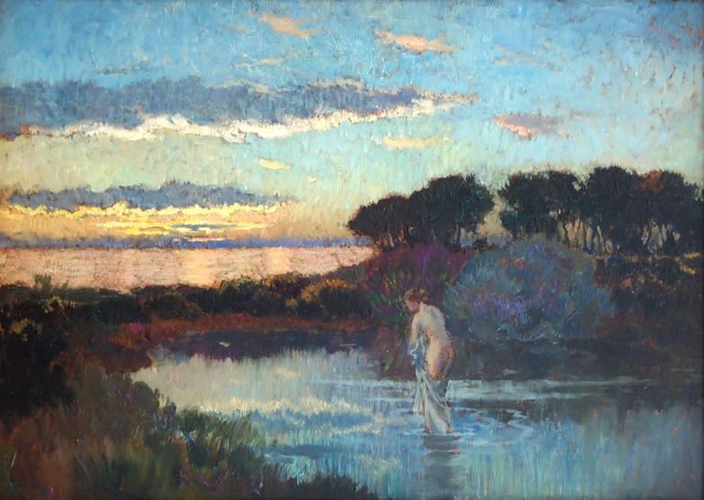 Emile-René Ménard, Baigneuse au Crépuscule