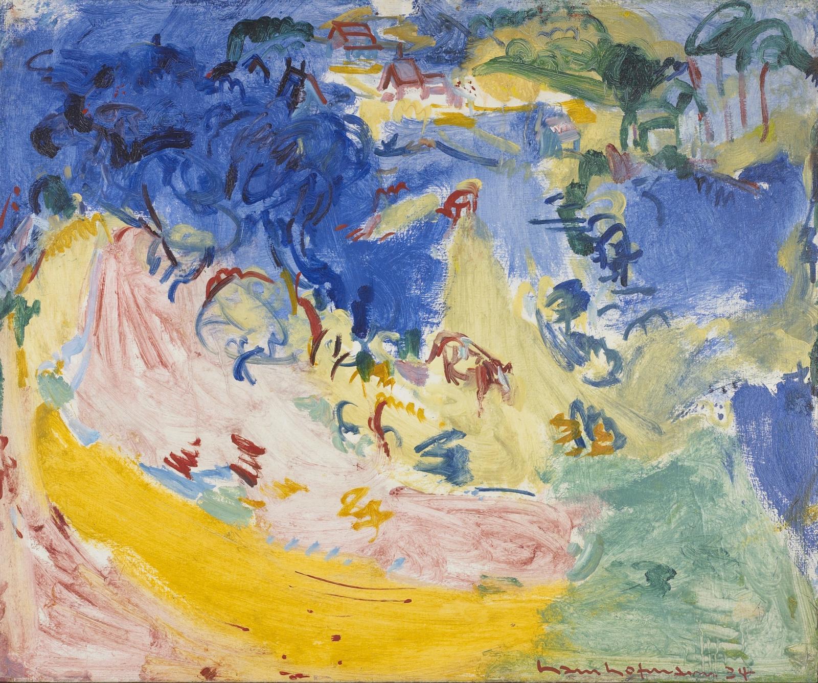 Hans Hofmann, Landscape No. 130, 1934