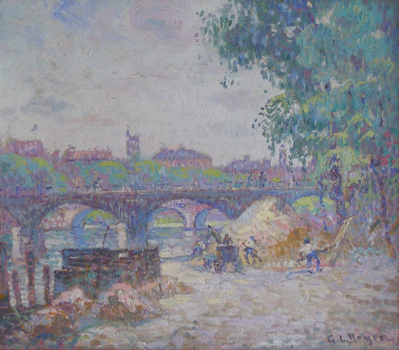 View to the Seine