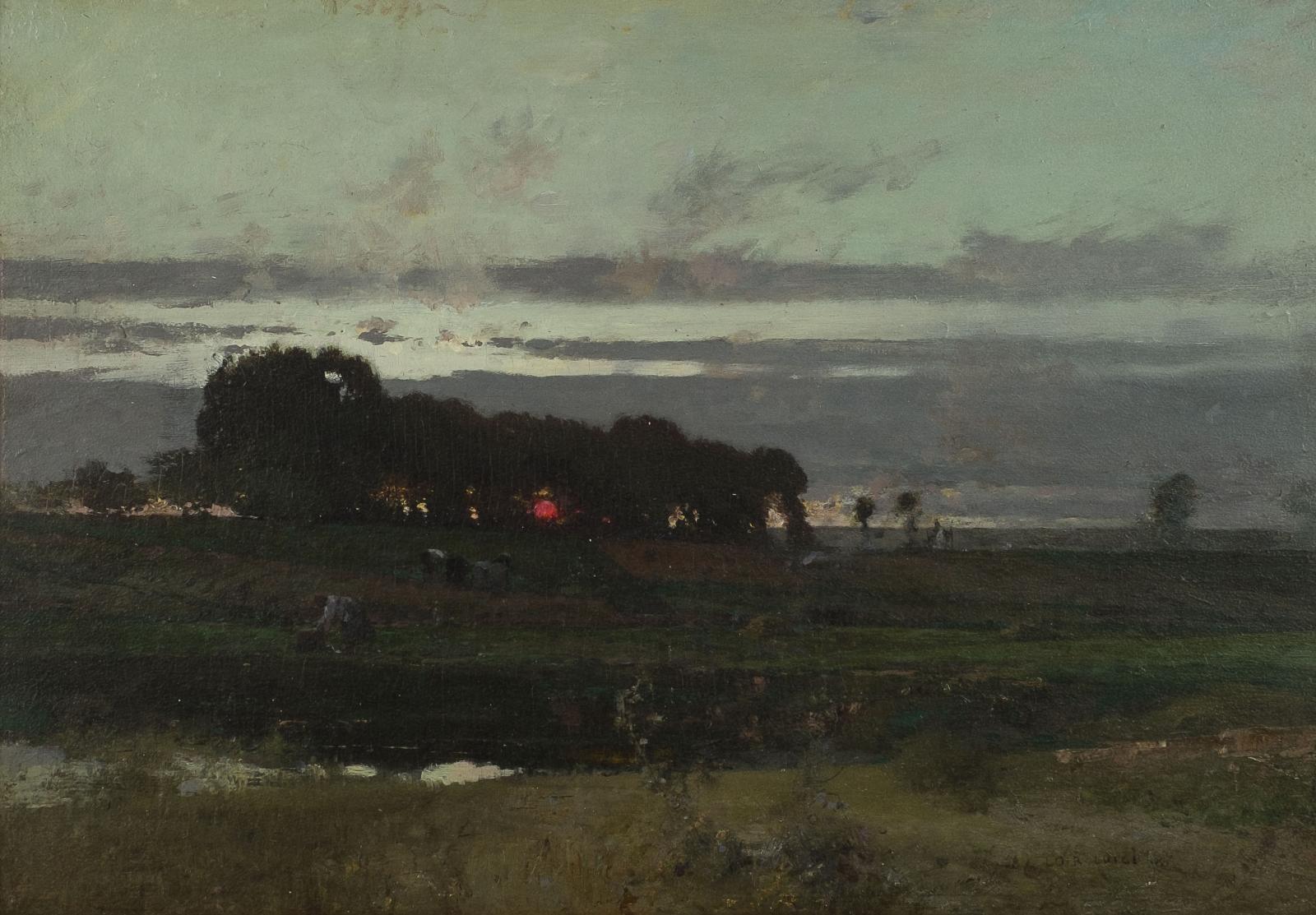 Luigi Loir, The Evening's Gleaning