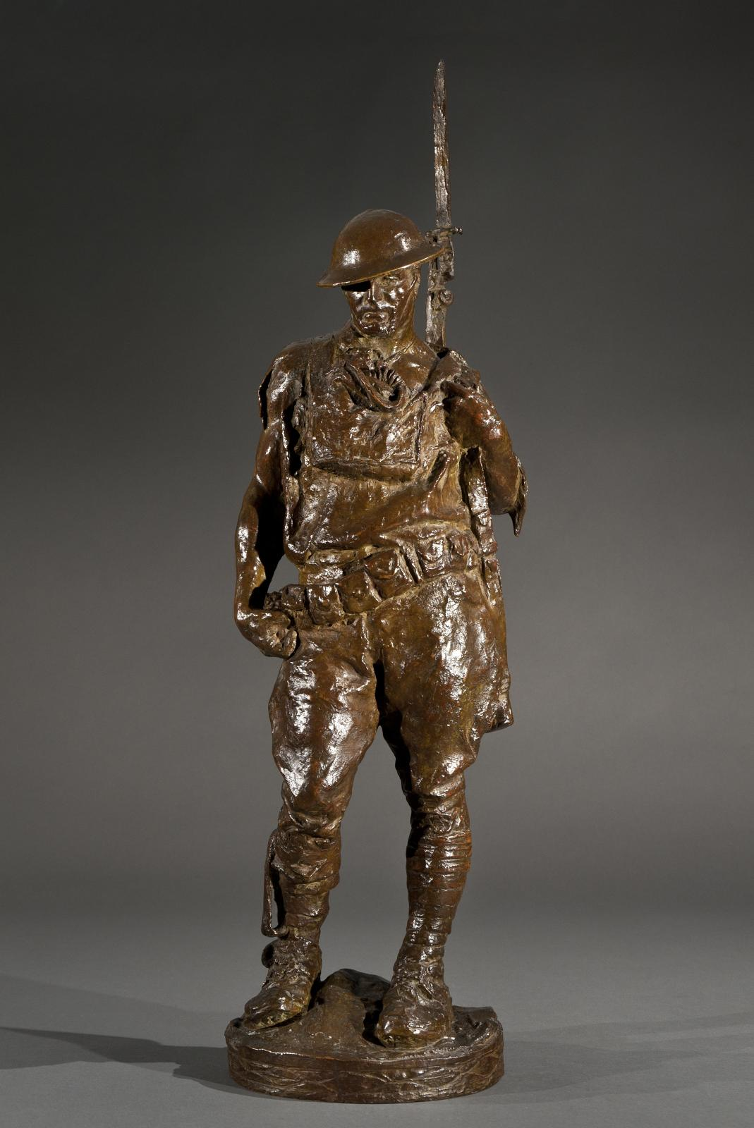 Allen George Newman, Doughboy, 1919