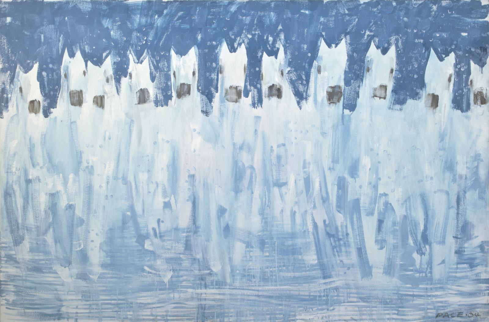 Eleven White Horses