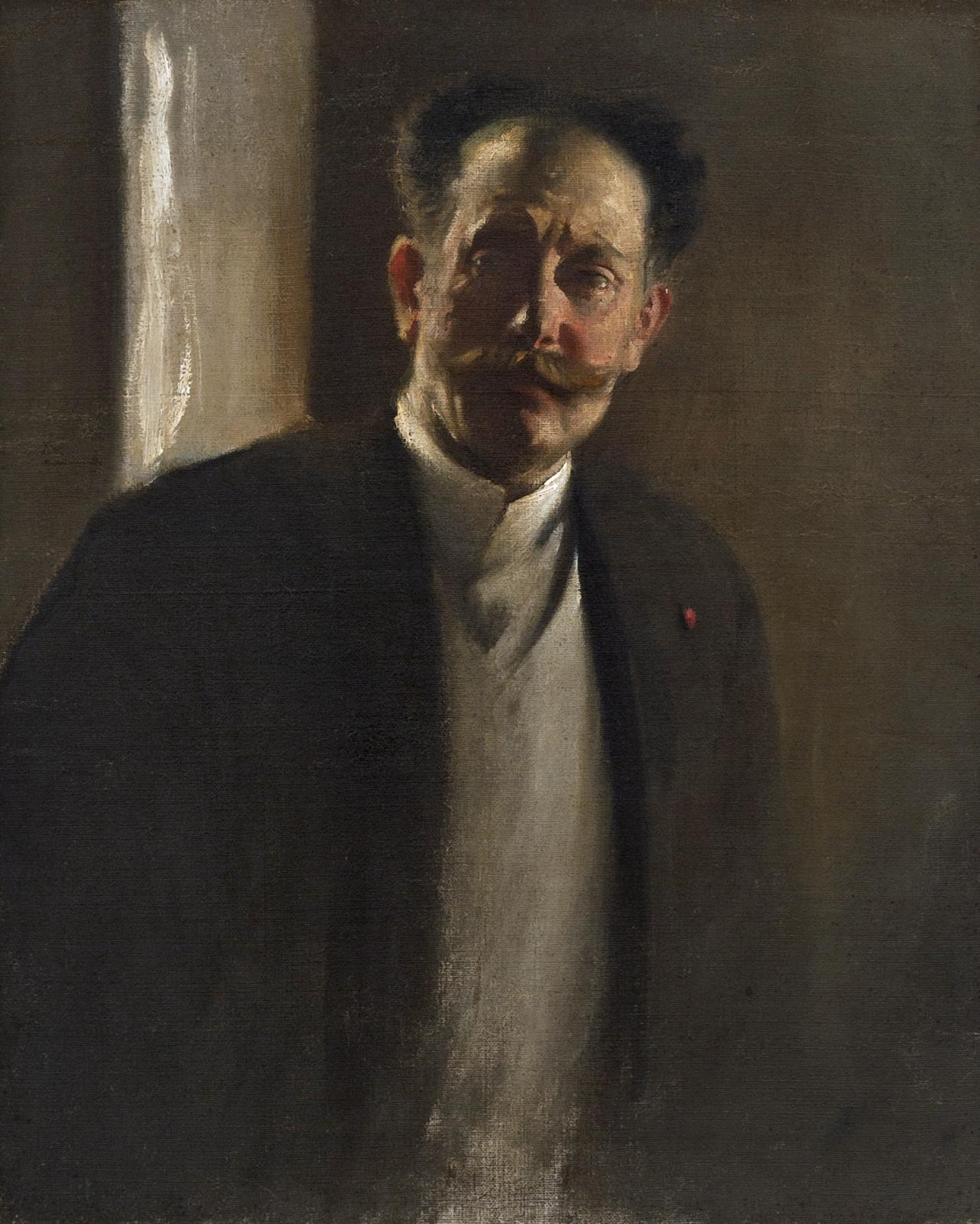 Study of a Man (with Moustache)