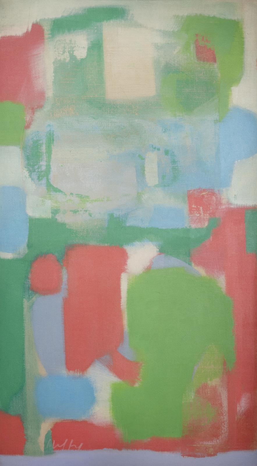 Untitled #168 (Green, Red)