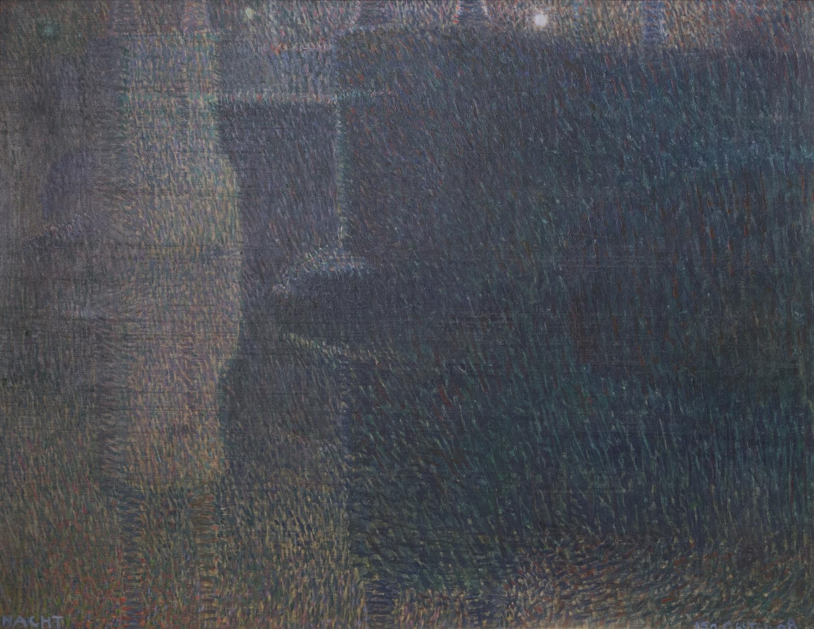 Leo Gestel, Nacht (Amstelbrug in Amsterdam), 1908