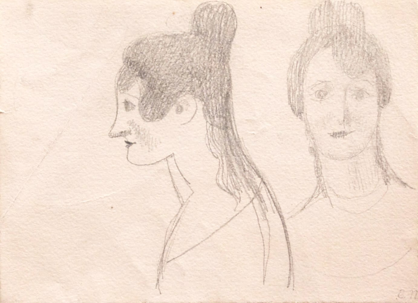 Two Views of a Woman