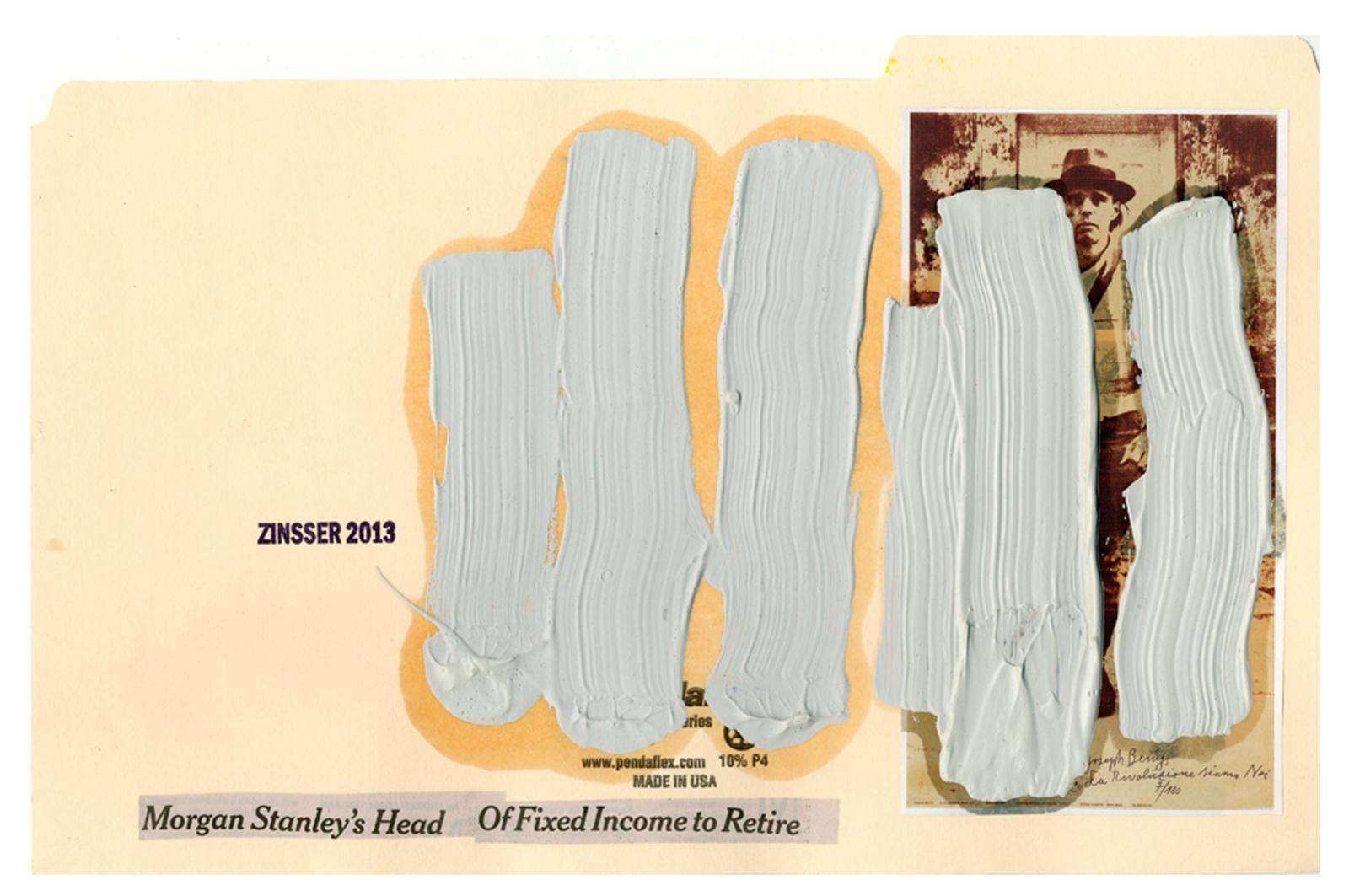 John Zinsser, File Study: After Joseph Beuys, 2013