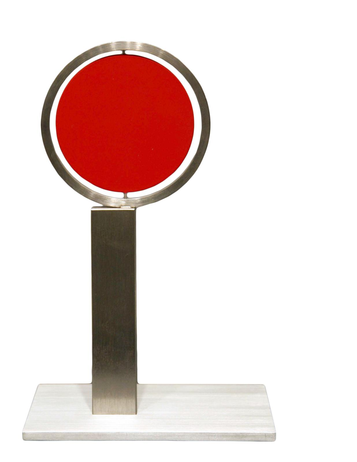 Roger Phillips, Disc on Column (maquette), 2004