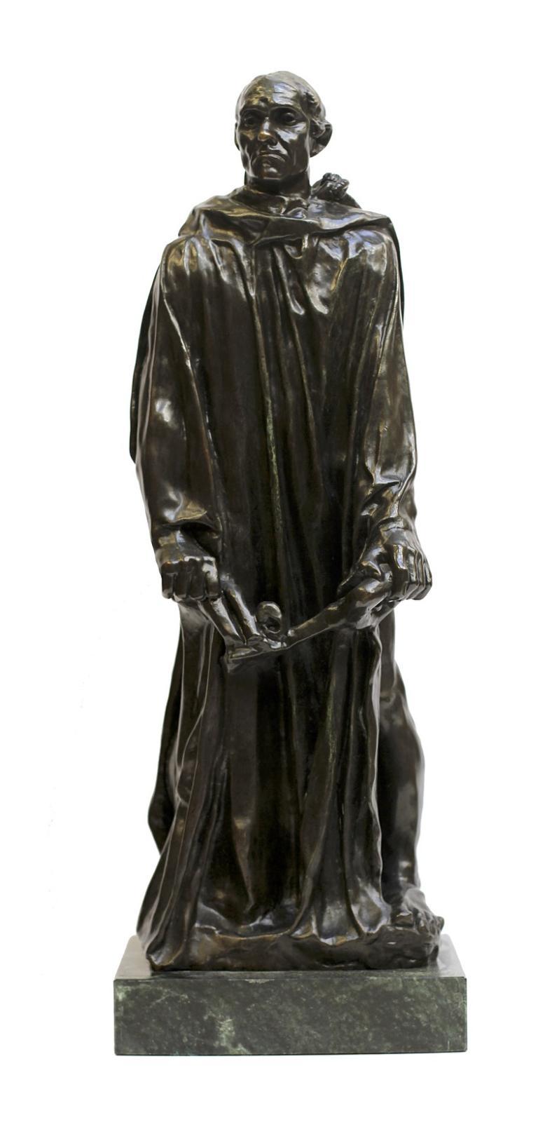 Auguste Rodin, The Burgher of Calais, Circa 1880s