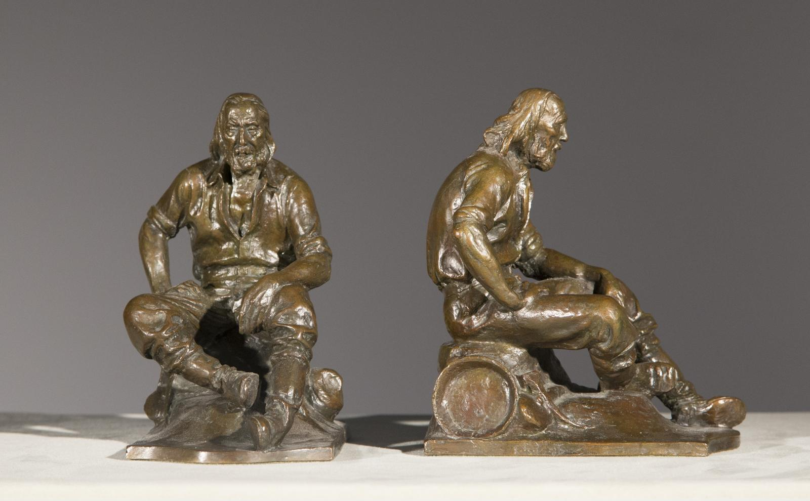 Pair of Miner Bookends