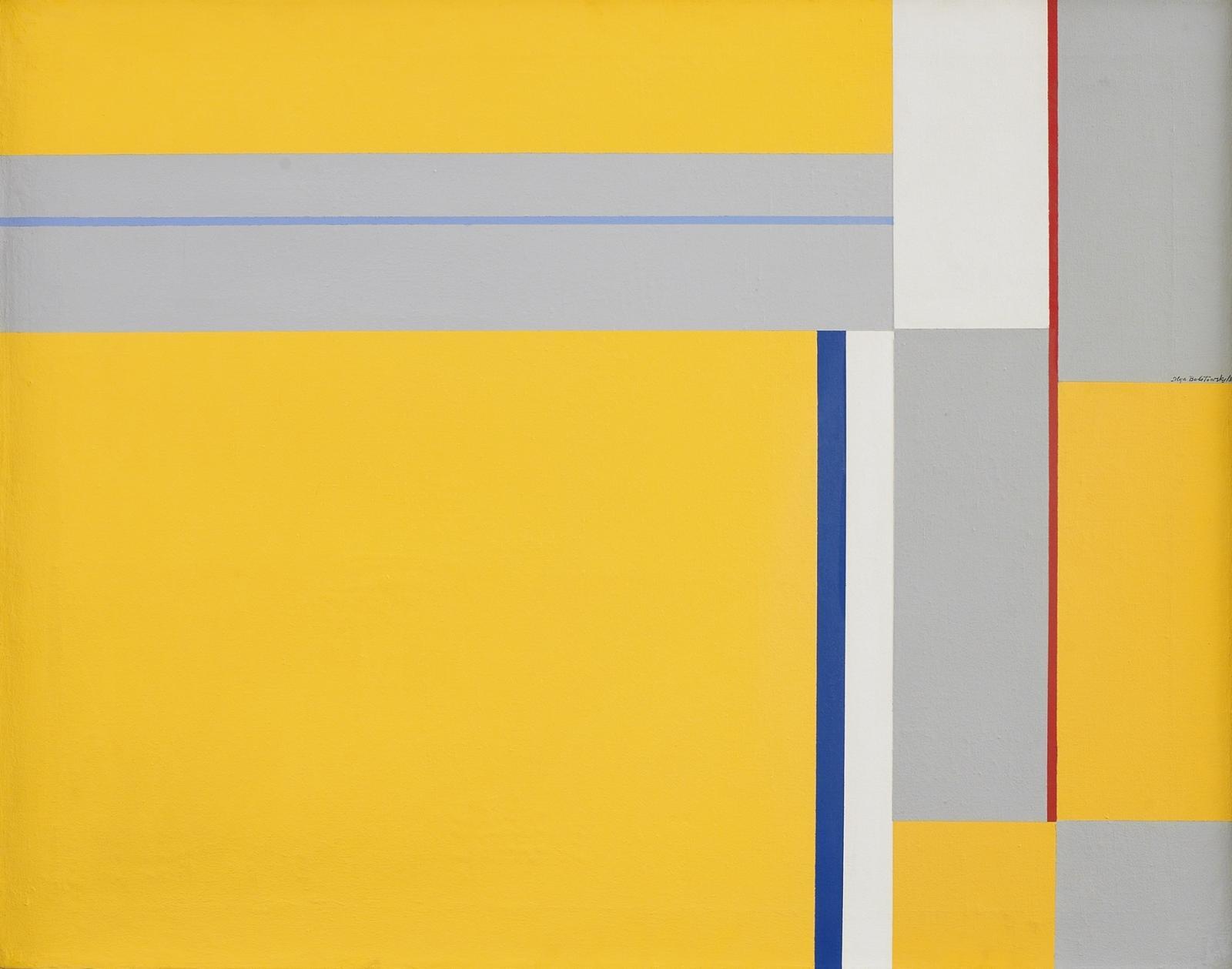 Ilya Bolotowsky, Untitled, 1981