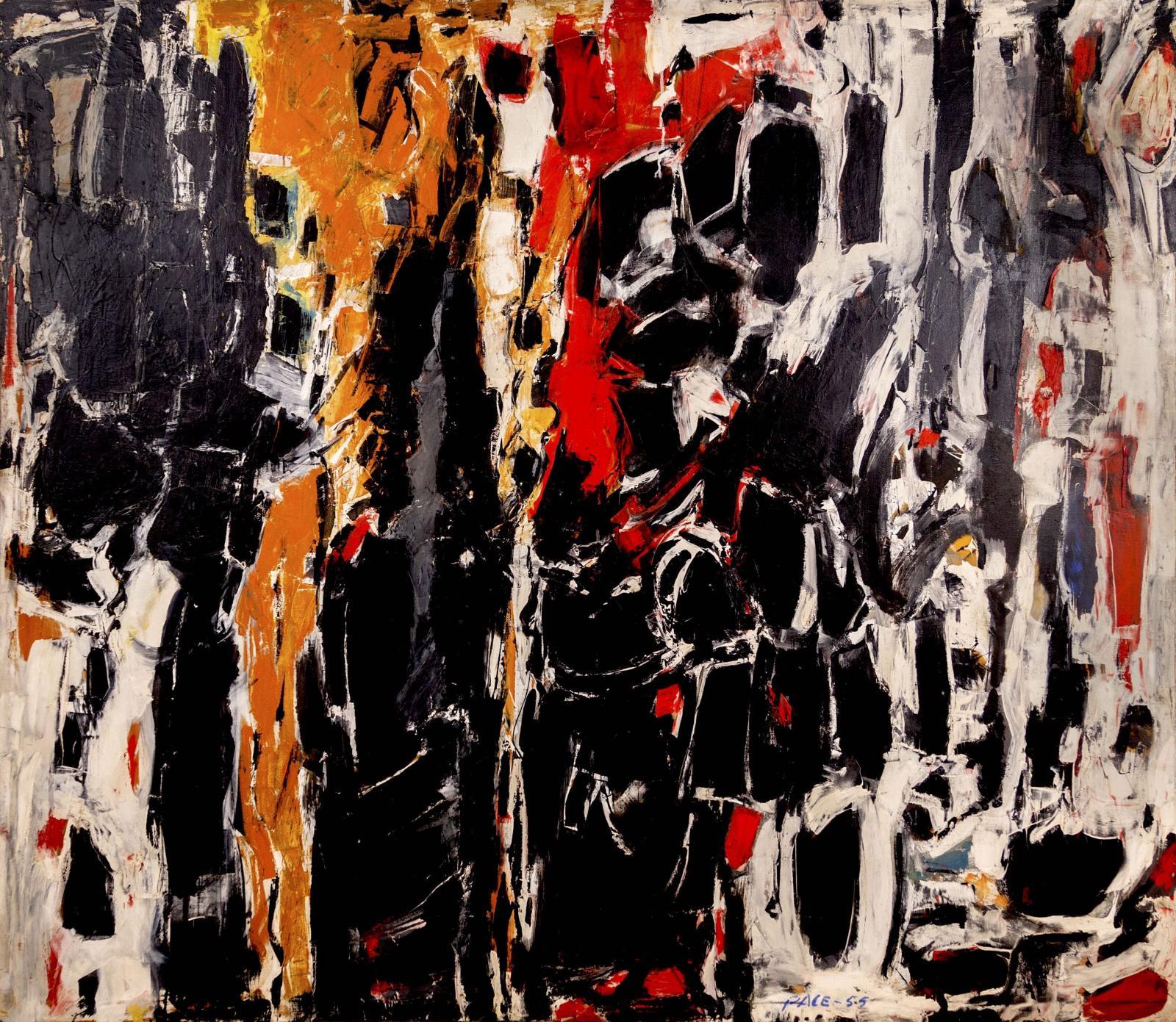 Stephen Pace, Sentinels, 1955