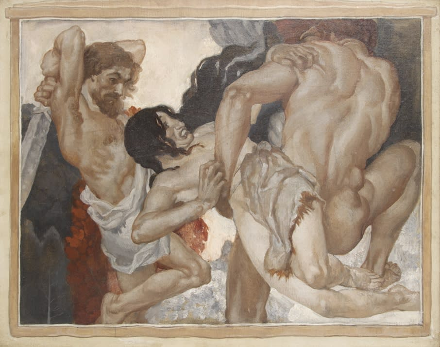 Abduction of Helen of Troy by Paris