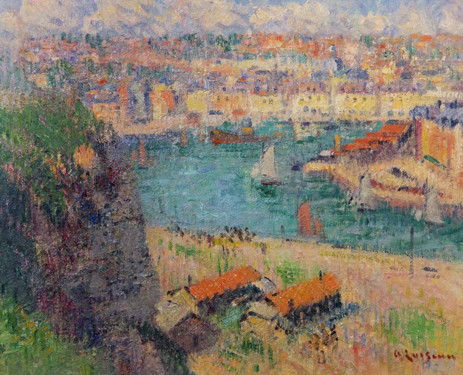 L'Avant Port de Dieppe, Temps Gris