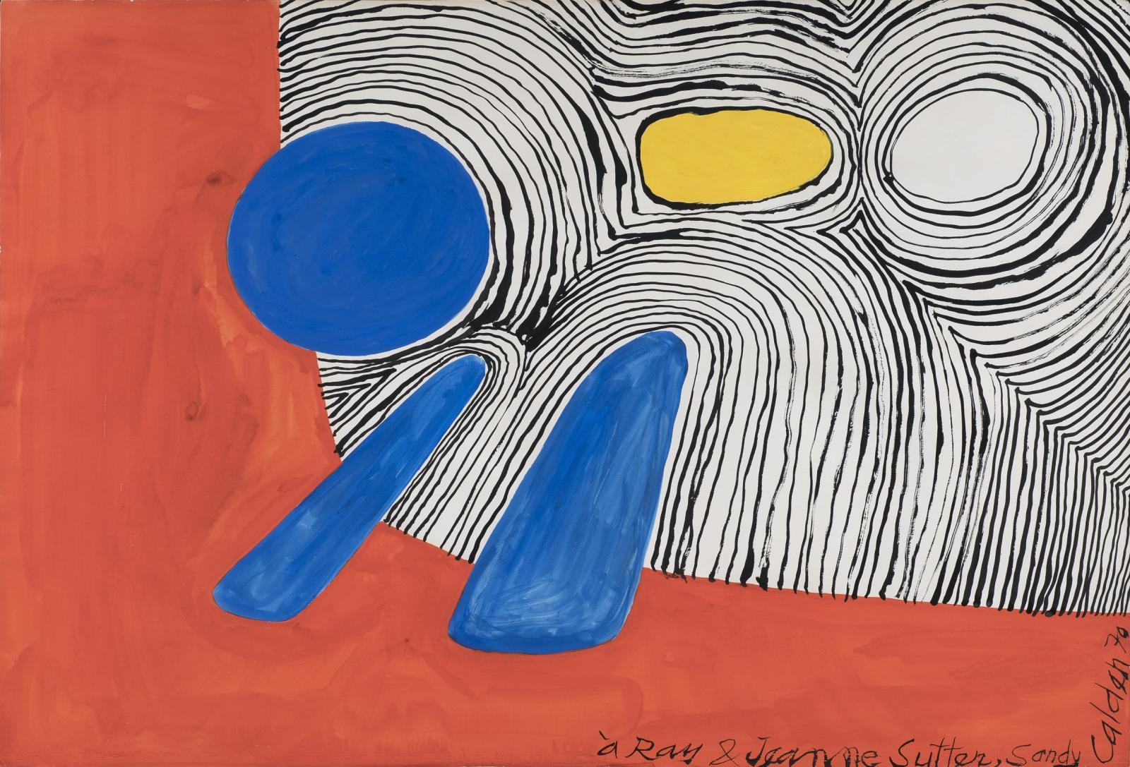 Alexander Calder, Sans Titre, 1970