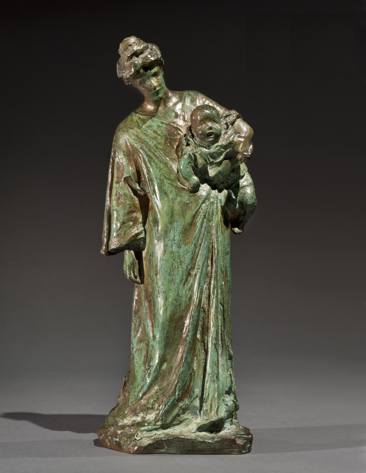 Bessie Potter Vonnoh, Mother and Child, Circa 1920