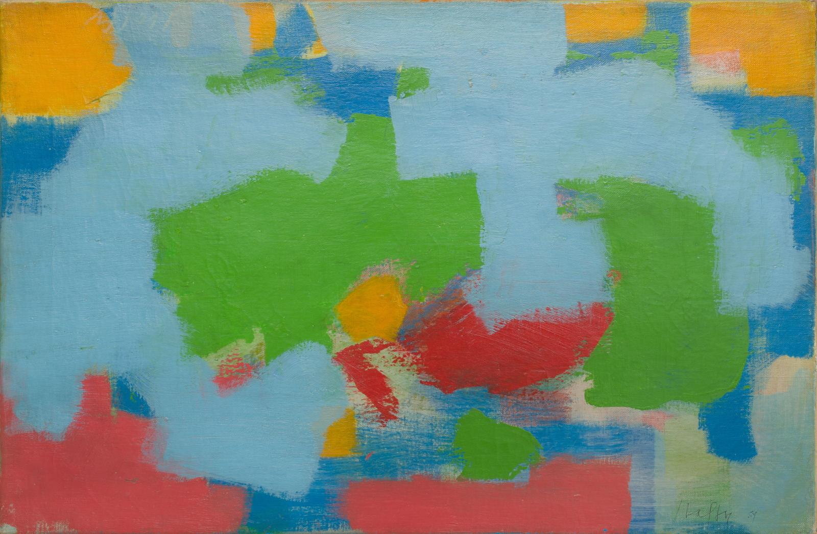 Carl Holty, Abstract, 1959