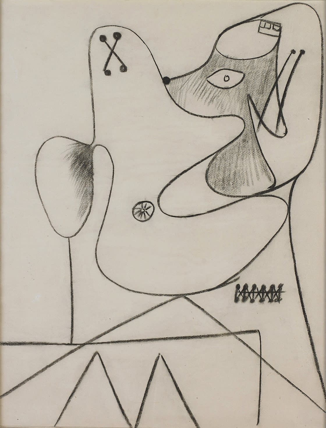 Untitled Double Drawing