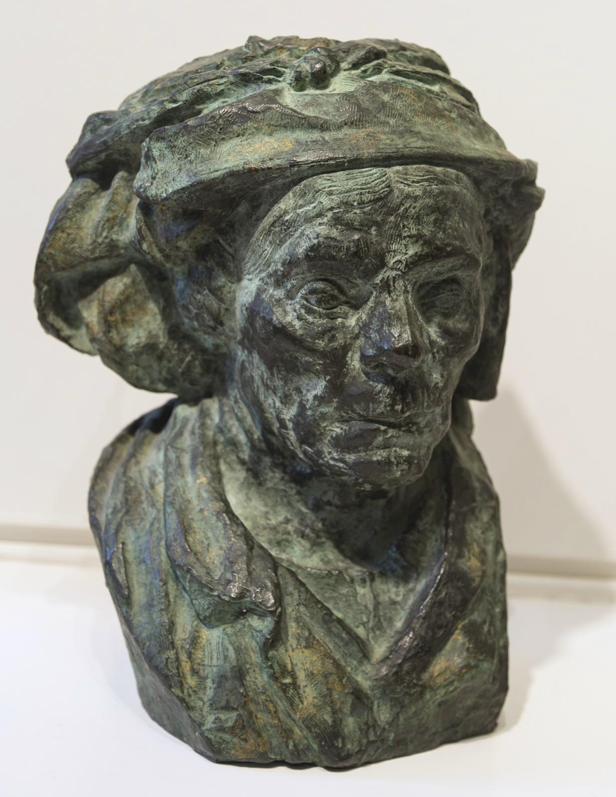 Bust of an Old Woman