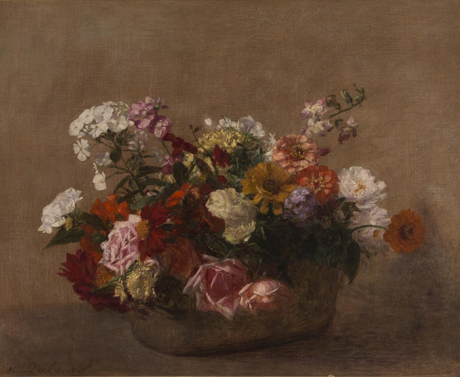 Victoria Dubourg Fantin-Latour, Nature Morte avec Fleurs, Circa 1900s
