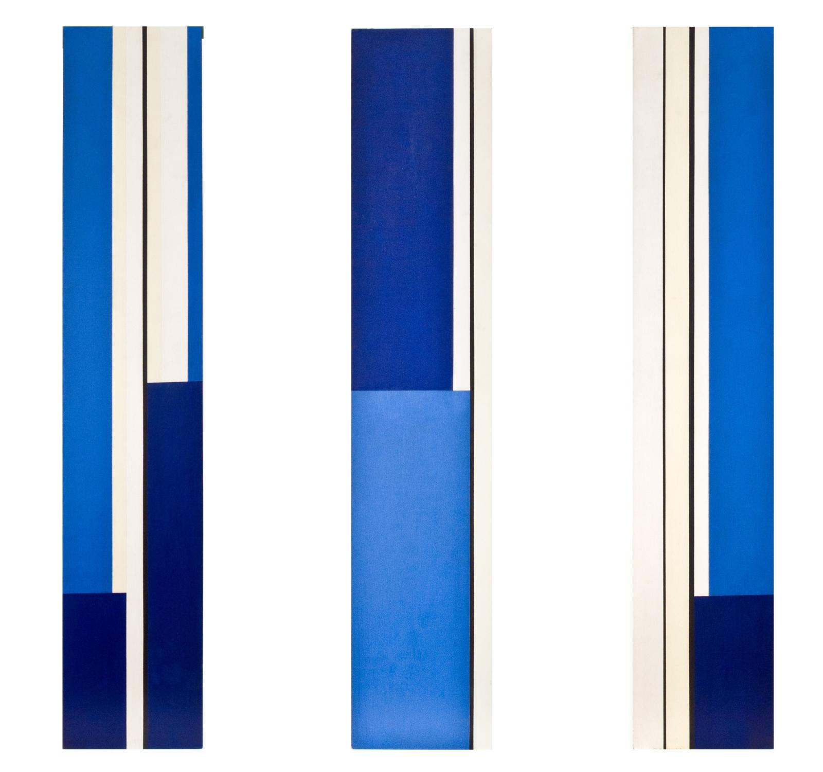 Trylon Blue and Yellow