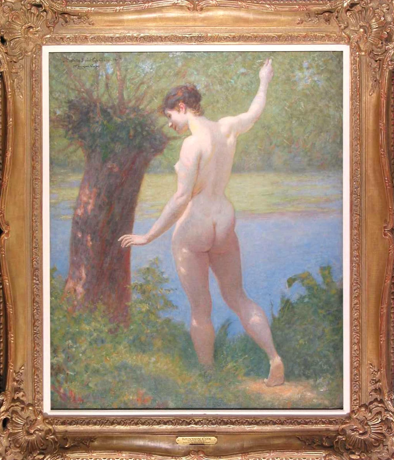 Nude by River's Edge