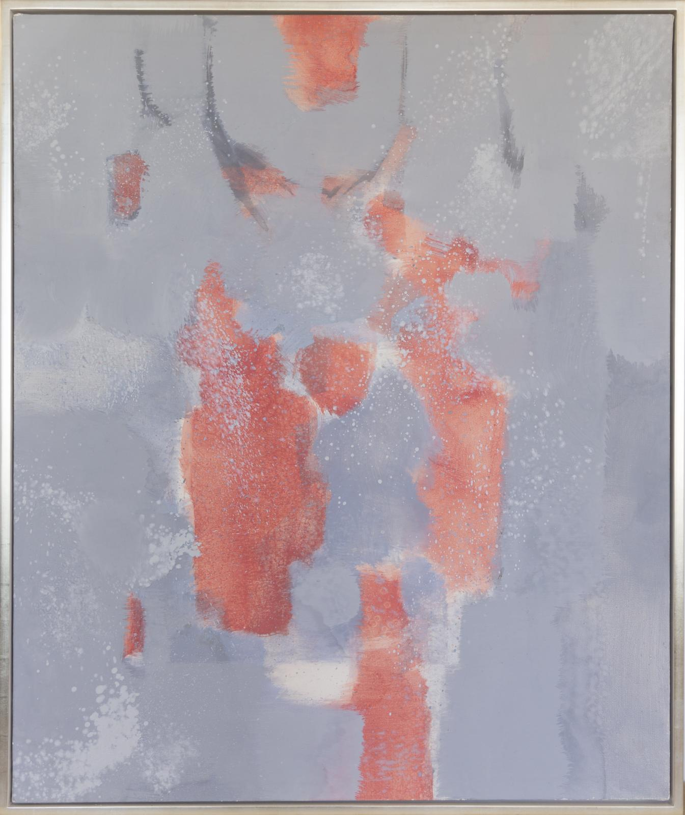 Untitled (Red, Gray) #5