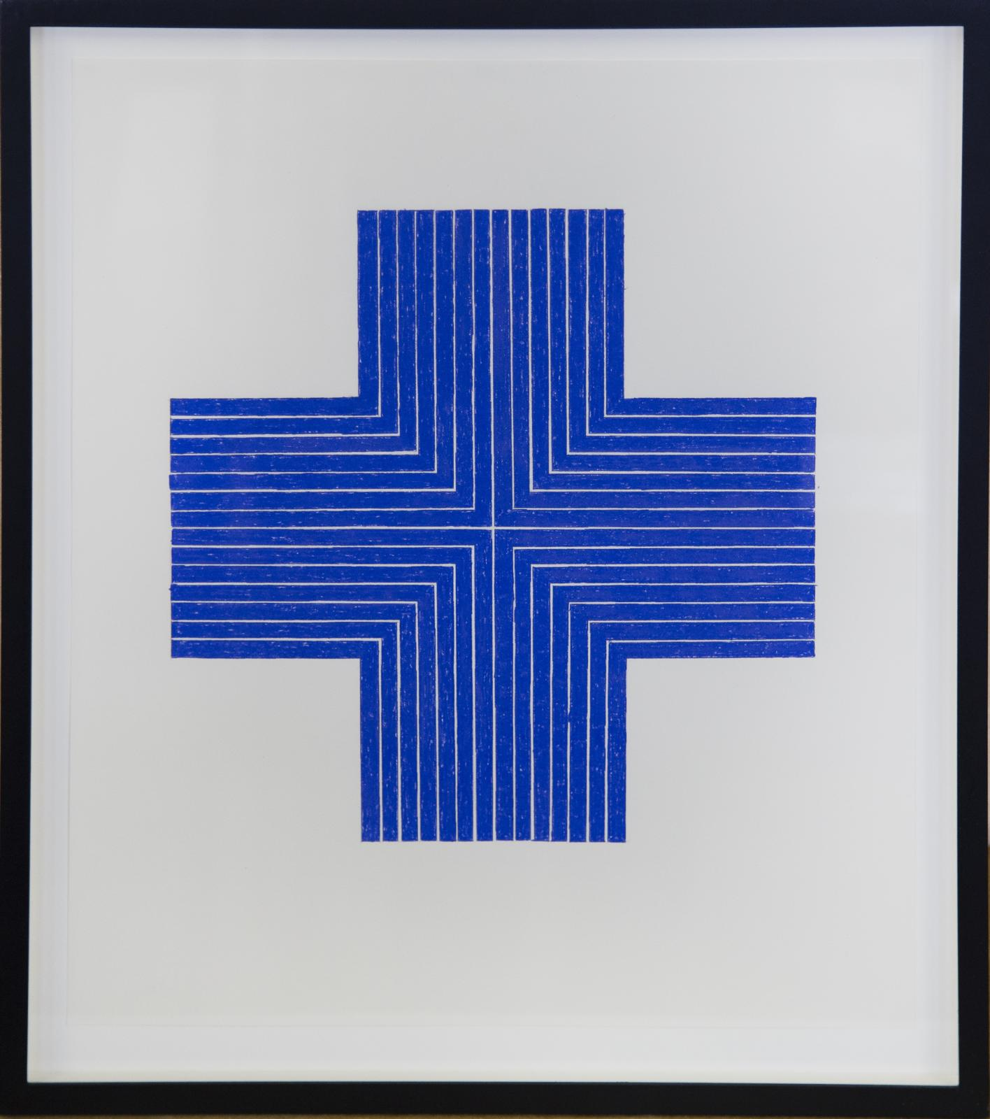 After Frank Stella, %22Ourway,%22 1960-61 (Blue)