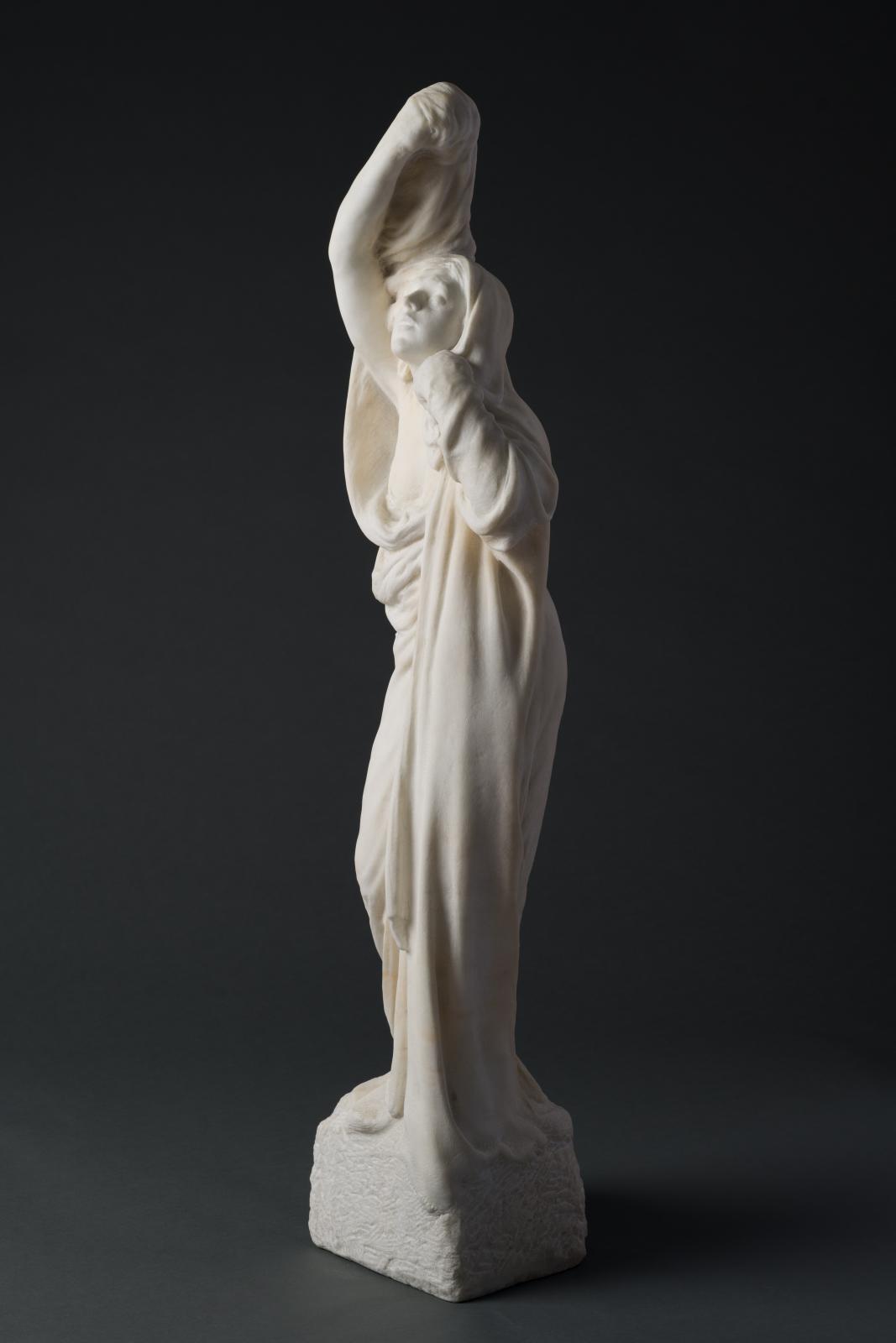 Draped Woman