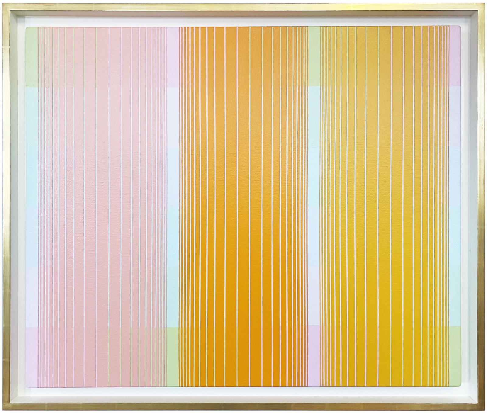 Trisected: Yellow to Pink
