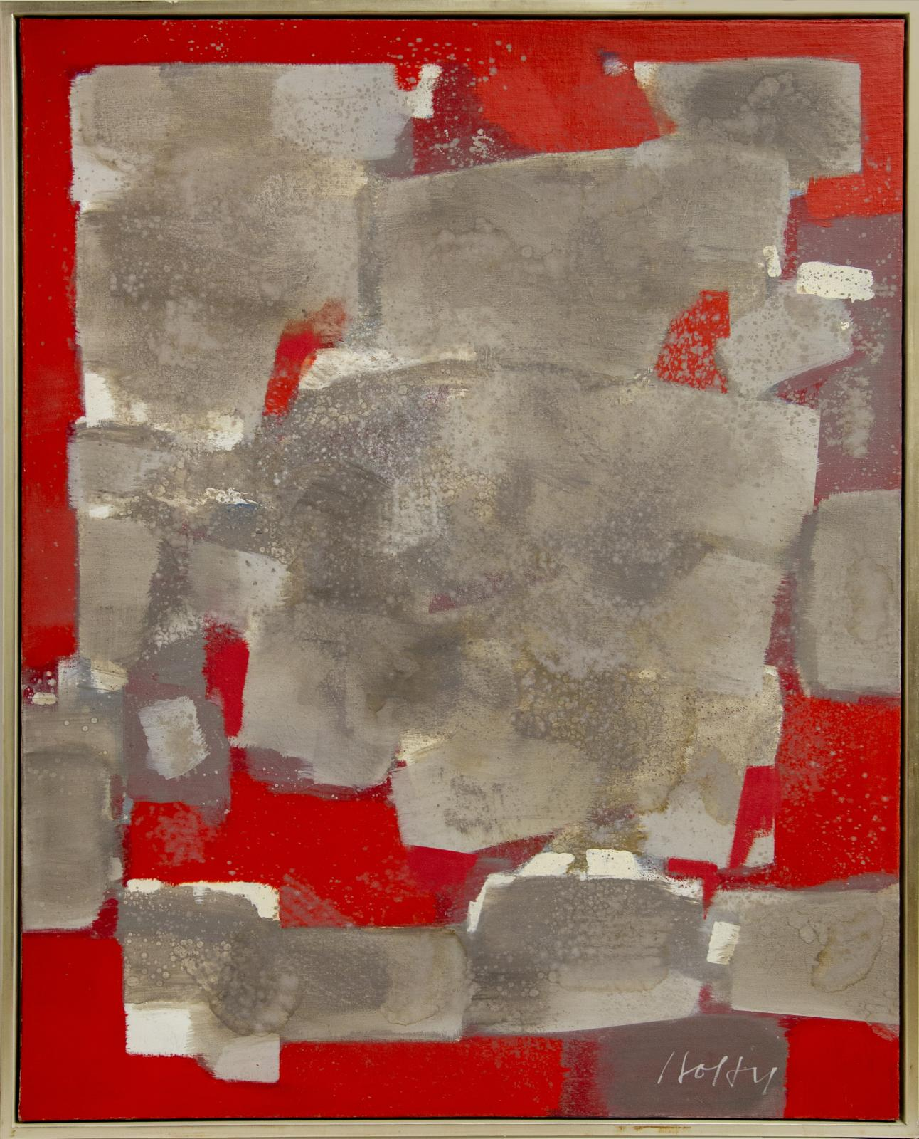 Gray Volume in Red