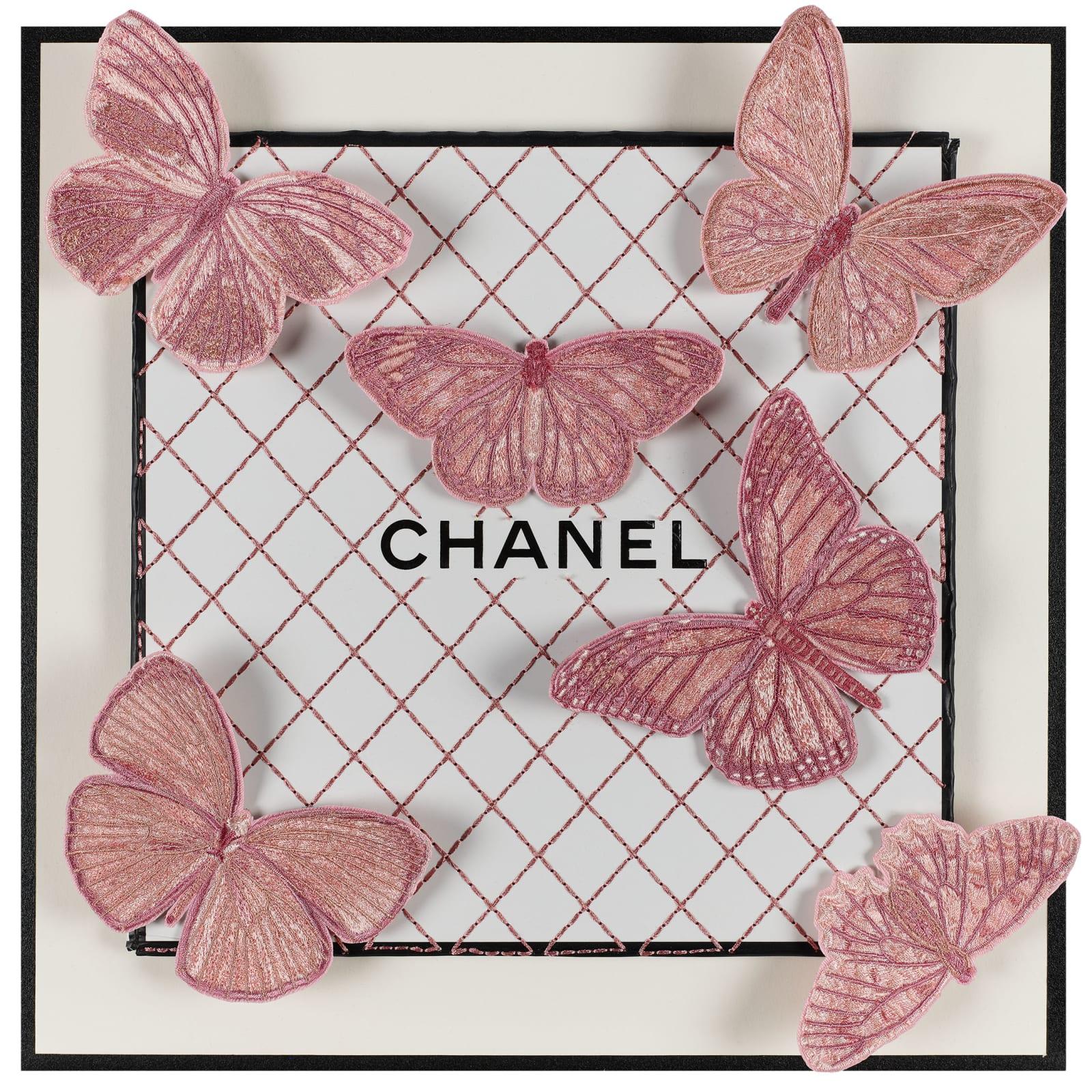 Stephen Wilson, Pastel Pink Chanel III, 2019
