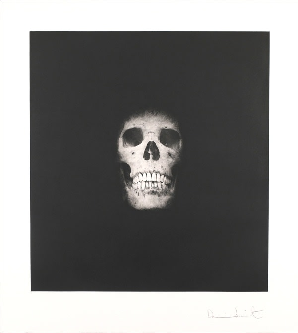 Damien - Hirst, I Once Was What You Are, You Will Be What I Am (Skull 3), 2007