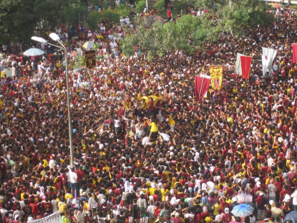 Buen Calubayan , Feast of the Black Nazarene, 2012