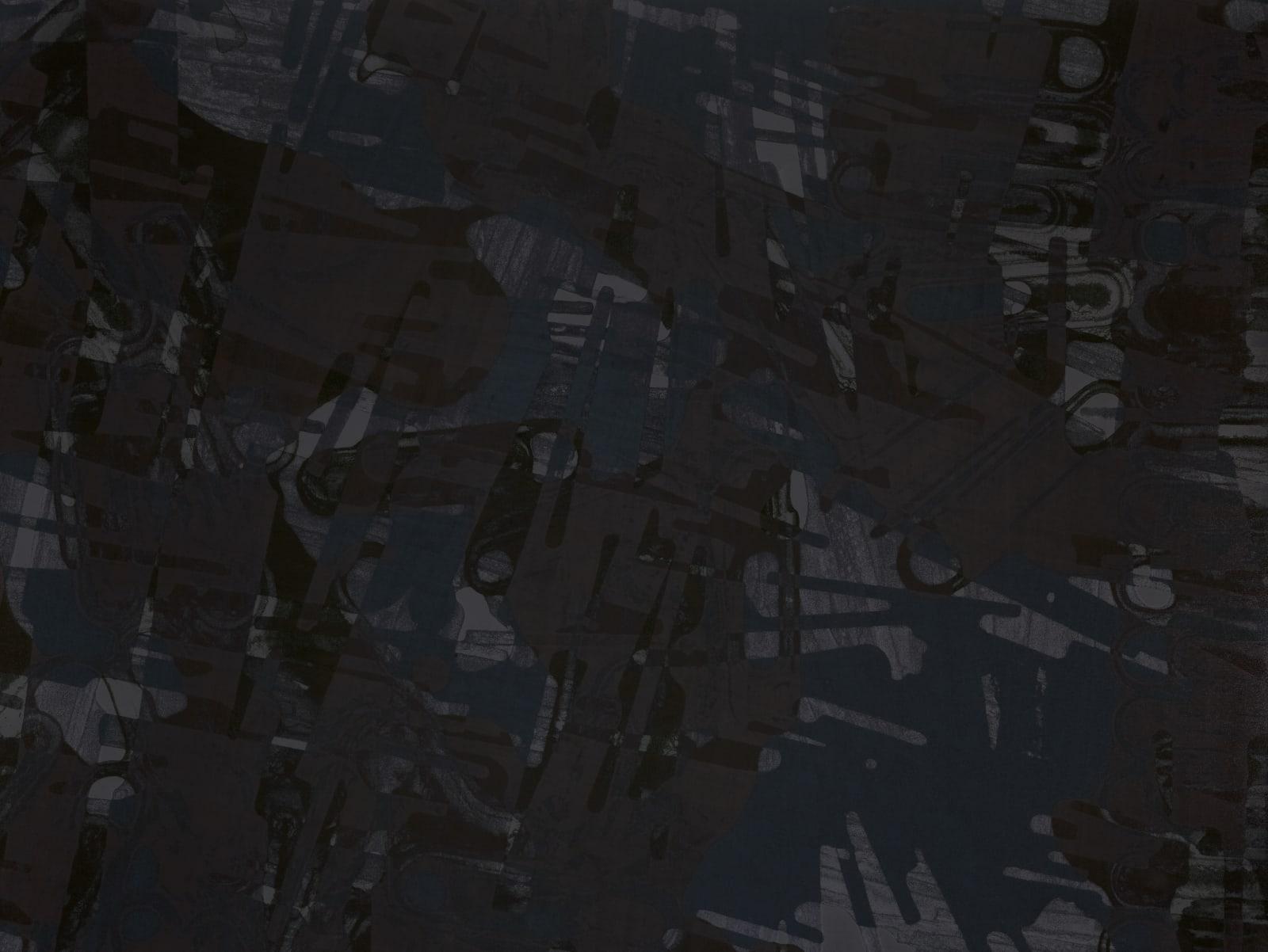 Kohei Nawa , Element Black #4, 2018