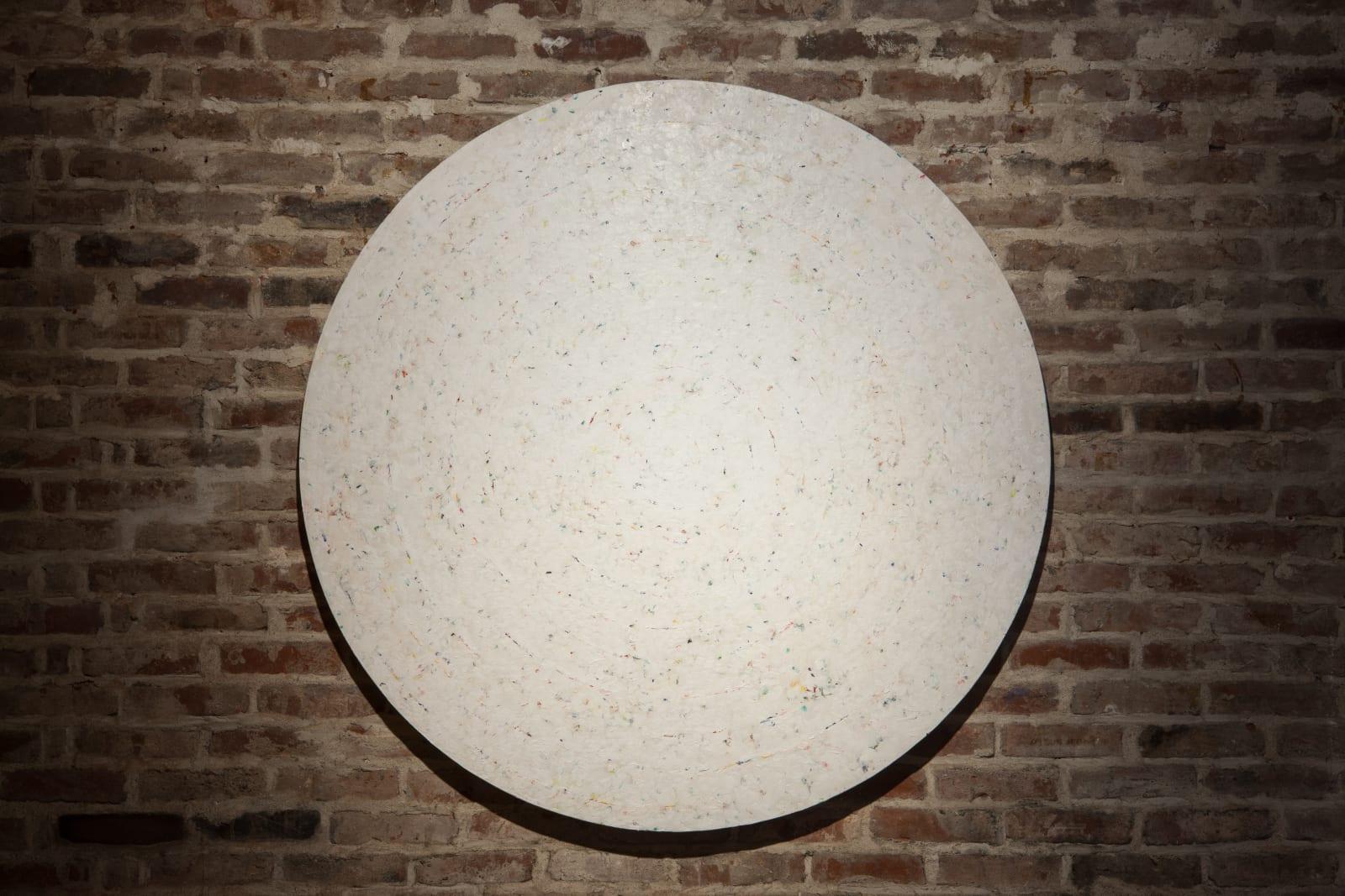 Kim Soungui , 그림-과녁-흰색 Peinture-Cible-White, 1985-1986