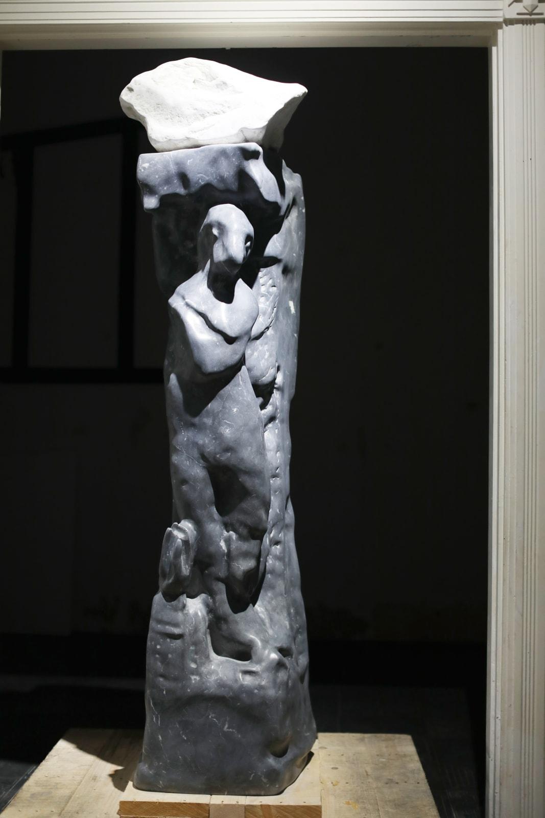 Chen Yujun, African Mythical Creature and Venus 非洲神兽与维纳斯 , 2018